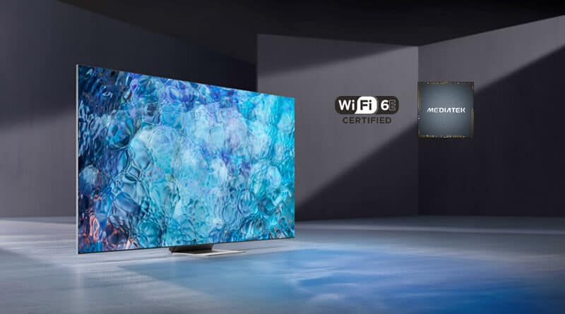 Samsung Neo QLED 8K TV earn Wi-Fi 6E from MediaTek