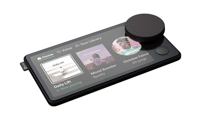 Spotify unveil Car Thing dash car music streamer