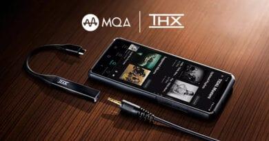 THX Onyx mobile DAC Amp support MQA rendering