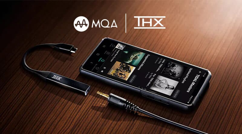 THX Onyx mobile DAC Amp support MQA rendering