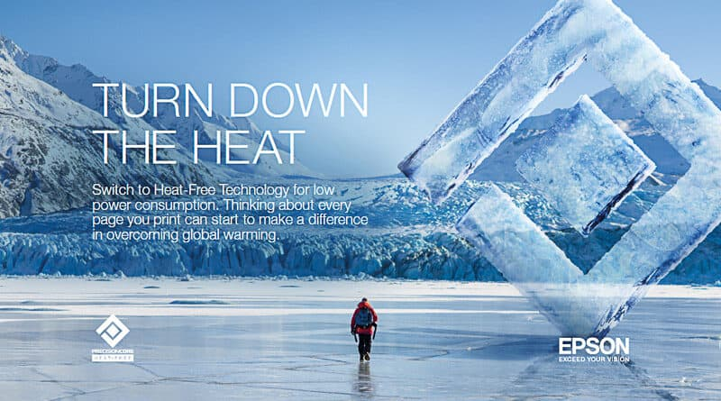Epson x NG Turn Down the Heat campaign