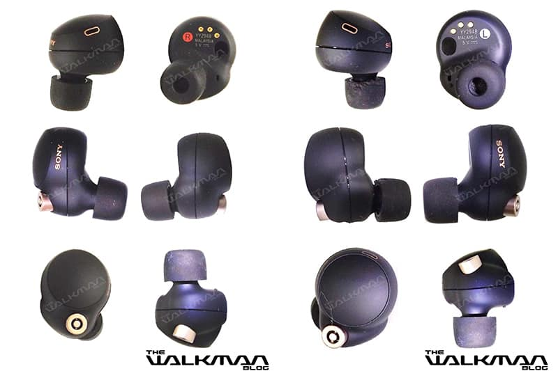 Sony WF-1000XM4 full design leaked