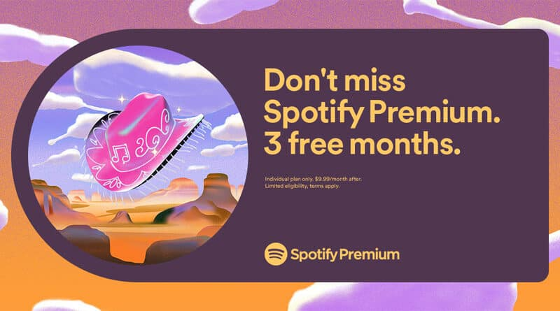 Spotify Premium mid year offer
