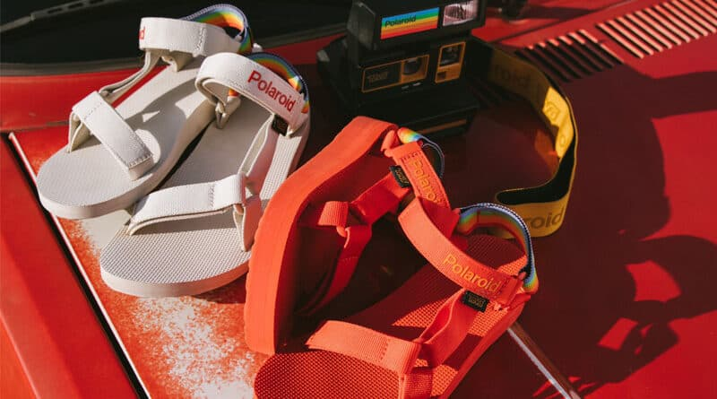 Teva x Polaroid introduce limited edition sandal