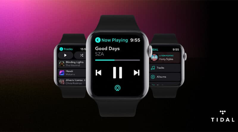 TIDAL releases Apple Watch app with offline playback