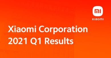 Xiaomi Corporation posts record results as 2021 Q1 revenue