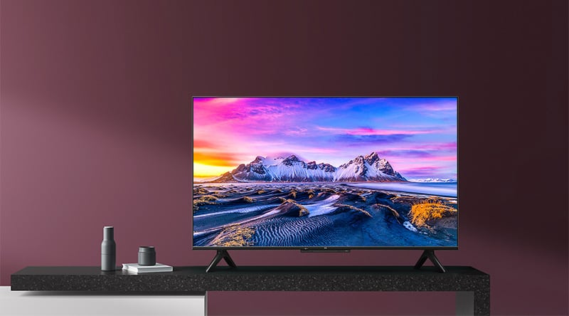Xiaomi launched Mi TV P1 series with new remote control HDMI 2.1 Dolby Vision