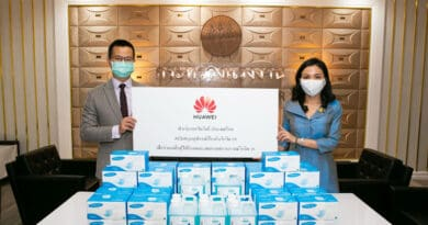 HUAWEI COVID-19 protection equipment donation
