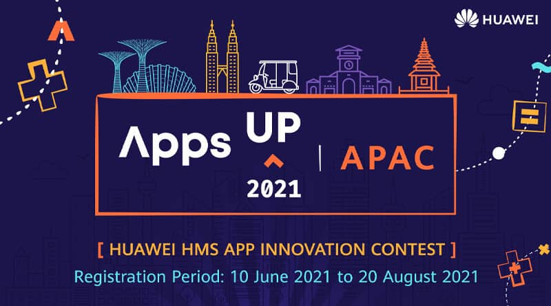 HUAWEI launches HMS apps up innovation contest 2021