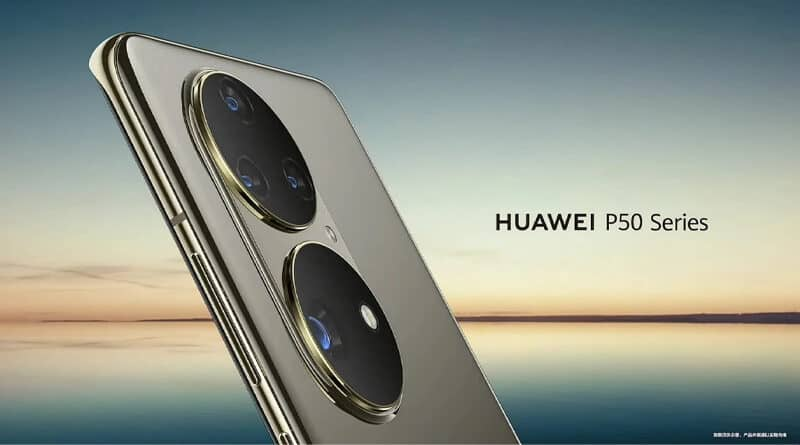 HUAWEI P50 Pro first official look Leica Harmony