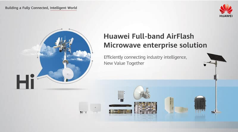 HUAWEI releases AirFlash Microwave
