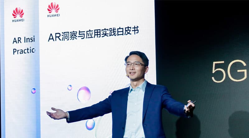 HUAWEI releases AR white paper and elaborates on benefits of 5G + AR