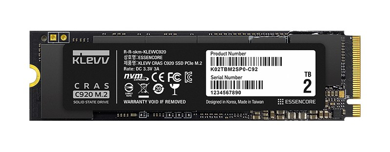 KLEVV launch high speed PCIE M.2 SSD with 7000MB/s read speed