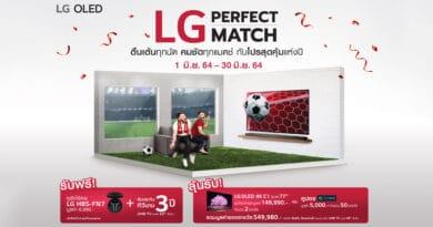 LG Perfect Match EURO promotion