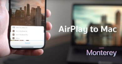 macOS Monterey first time AirPlay 2 to Mac computer-with-airplay-to-mac-feature