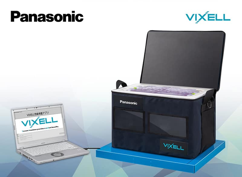 Panasonic Vixell temperature control box for vaccine now available