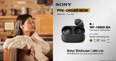 Sony WF-1000MX4 TWS pre booking in Thailand