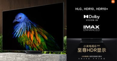 Xiaomi Mi TV 6 Extreme Edition teased 100 backlight partitions and Dolby Vision IQ IMAX Enhanced