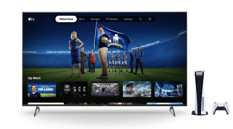 6 months free Apple TV+ for PS5