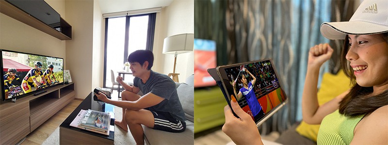 AIS Plays official broadcaster Tokyo 2020 Olympics