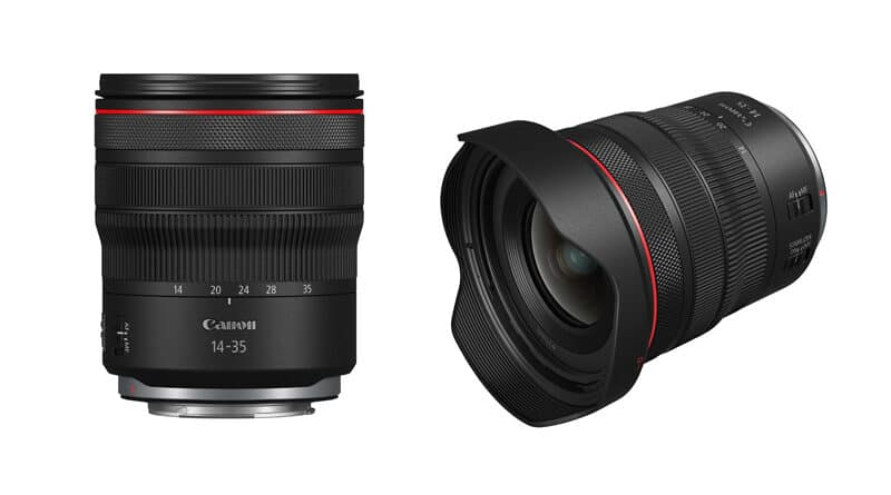 Canon introduce RF14-35mm f4L IS USM lens