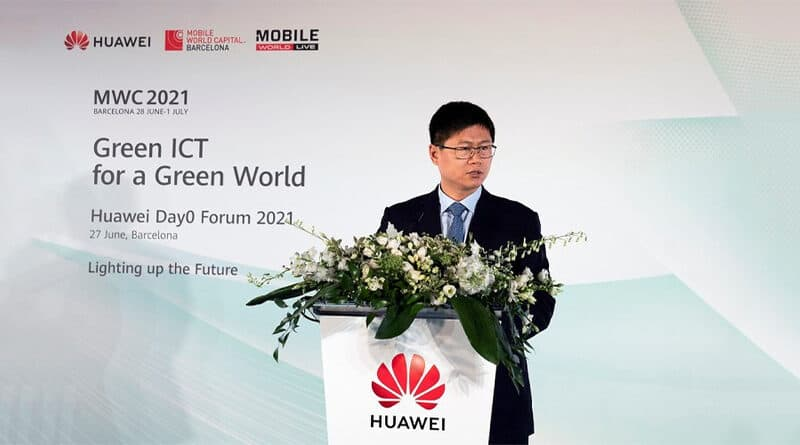 HUAWEI Green ICT for a Green World