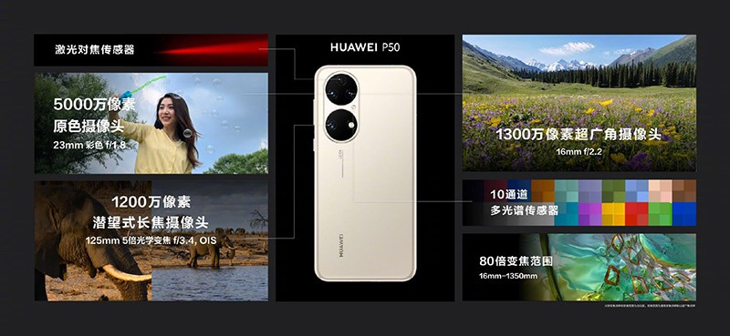 HUAWEI launch P50 P50 Pro announced with new design groundbreaking cameras and Snapdragon 888 SOC