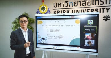 Krirk realizes its smart University Vision with HUAWEI ideaHub