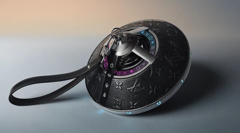 Louis Vuitton launch Horizon Light Up speaker with luxurious design