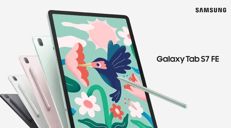 Samsung launch Galaxy Tab S7 FE premium tablet