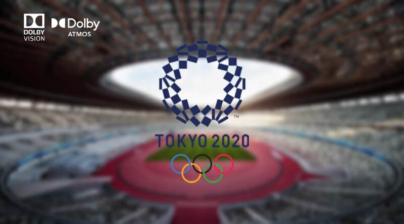 The Tokyo Olympics 2020 will be available in Dolby Vision and Dolby Atmos in US