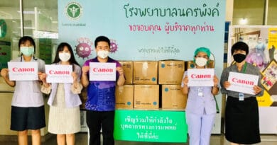 Canon CSR PPE for hospital and covid-19 relief center