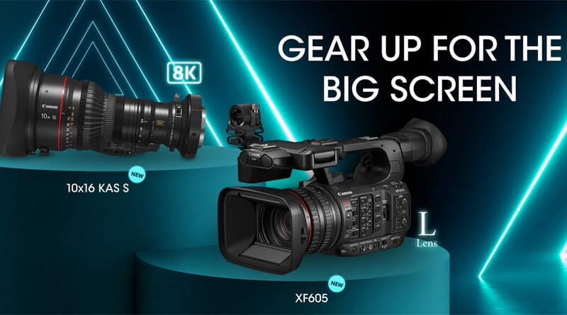 Canon introduce XF605 4K video camera