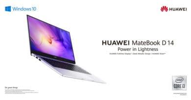 HUAWEI MateBook D14 i3 promotion