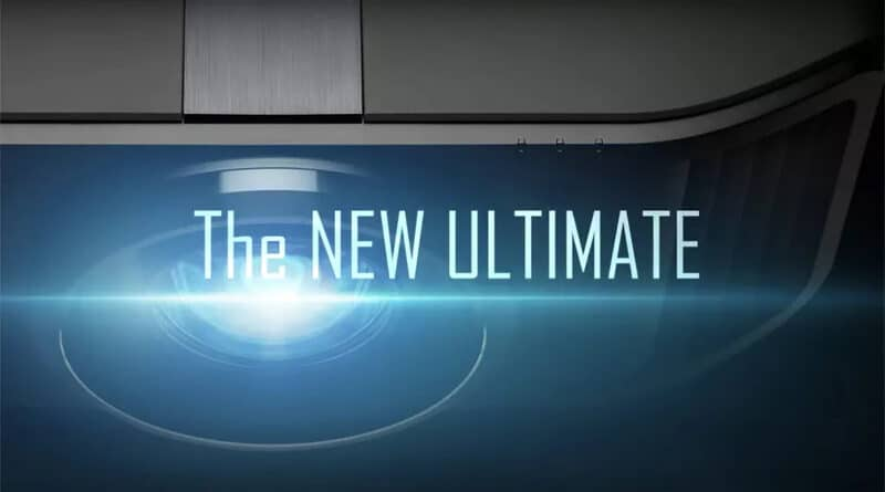 JVC New Ultimate 8K laser projector on its way