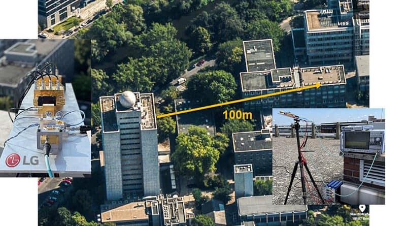 LG reports successful demonstration 6G data transmission using terahertz spectrum