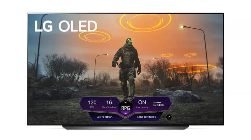 LGs first 42 inch OLED TV won't arrive until 2022