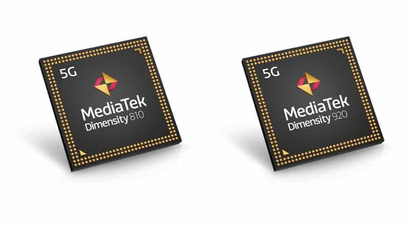 MediaTek release Dimensity 810 and 920 5G smartphone chipset