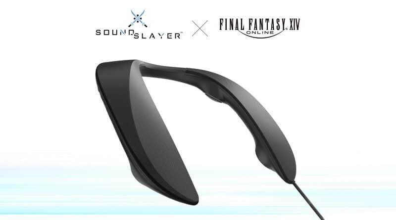 Panasonic x Final Fantasy creators for SC-GN01 wearable gaming speaker