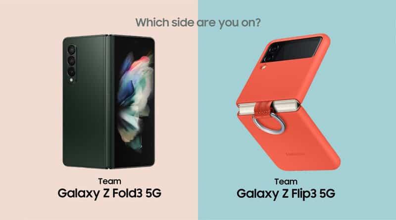 Samsung guide Galaxy Z Fold 3 or Galaxy Z Flip 3