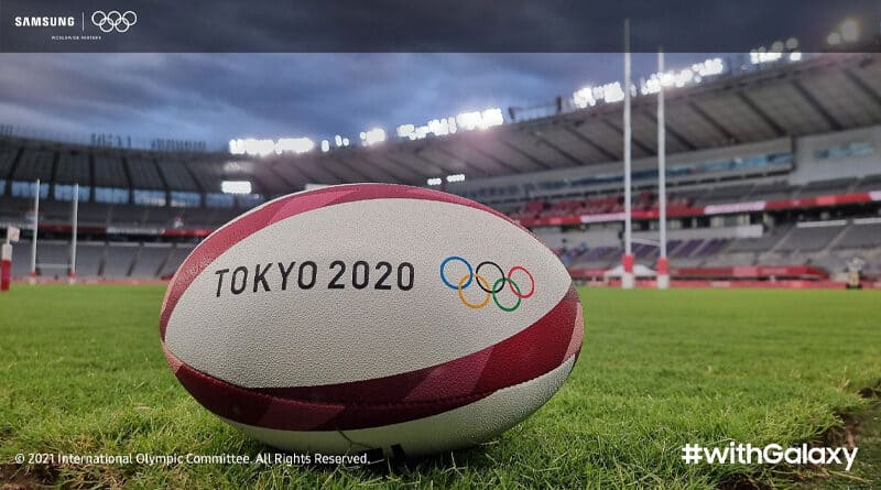 Samsung tease withgalaxy theme photo taken from Tokyo Olympic 2020