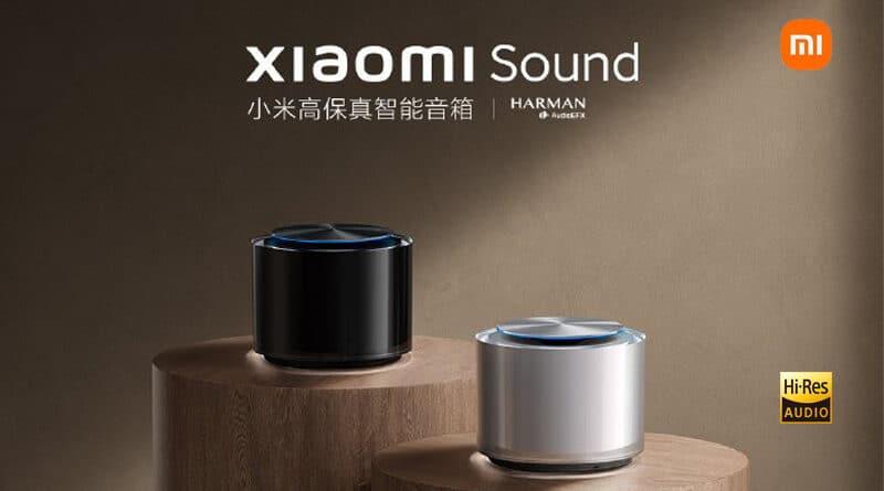 Xiaomi Sound brand's first high-end smart speaker featured hi-res audio