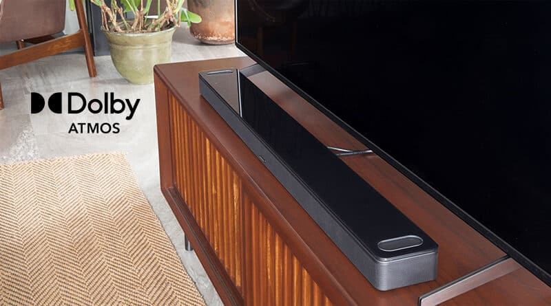 Bose introduces the Smart Soundbar 900 features Dolby Atmos