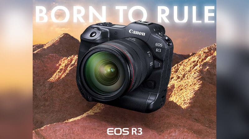 Canon launch EOS R3 with RF lenses