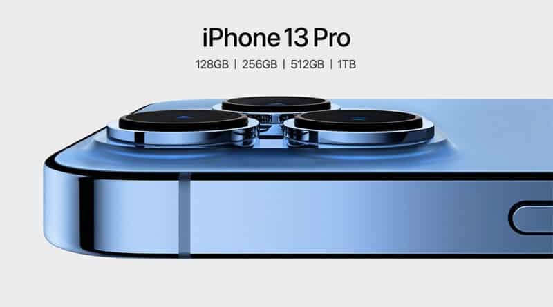 iPhone 13 Pro first 1TB ProMotion 120Hz display macro camera iPhone ever