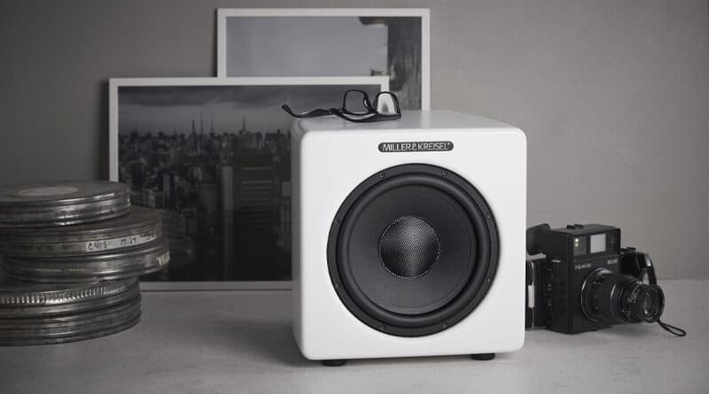 M&K Sound V10+ new compact subwoofer launched