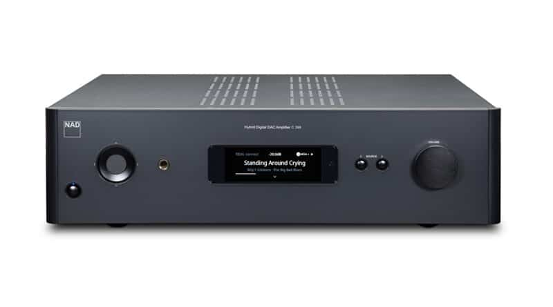 NAD launches C 399 BluOS streaming integrated amplifier