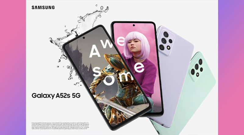 Samsung official launch Galaxy A52s 5G smartphone