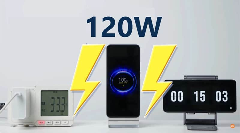 Xiaomi confirm 120W rapid charge solution won't affect battery life