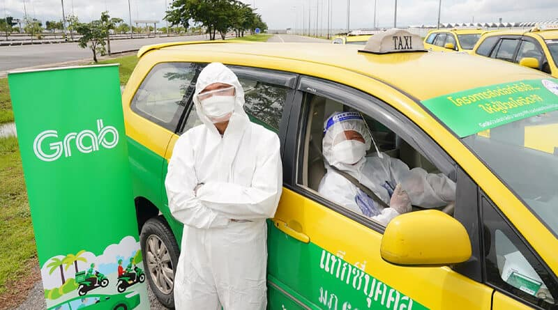 Grab donates PPE and oxygen